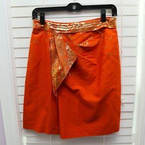 ELIE TAHARI - Skirt Metallic New with TAGS